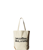 Dogeared - I (Heart) Coffee Like A Latte Tote