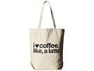 Dogeared - I (Heart) Coffee Like A Latte Tote