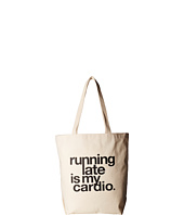 Dogeared - Running Late Is My Cardio Tote
