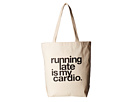 Dogeared Running Late Is My Cardio Tote