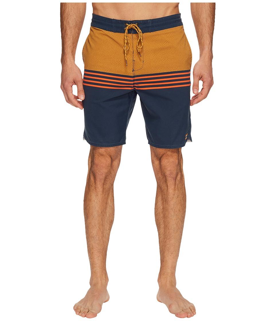 Billabong Fifty 50 Lo Tide Boardshorts (Indigo) Men