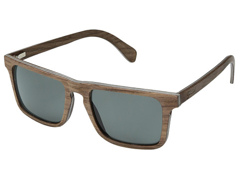 Shwood Govy 2 Wood Sunglasses - Polarized - Walnut/Grey Polarized