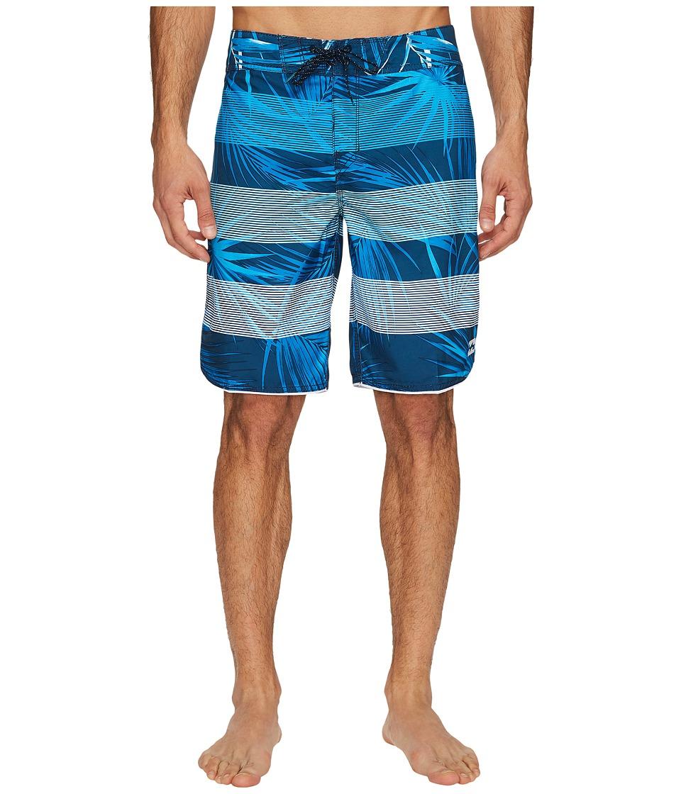 Billabong 73 OG Stripe Boardshorts (Navy) Men
