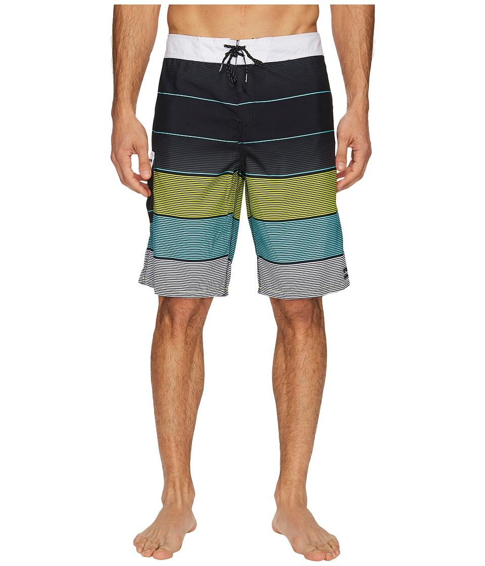 Billabong All Day Original Stripe Boardshorts (Black) Men