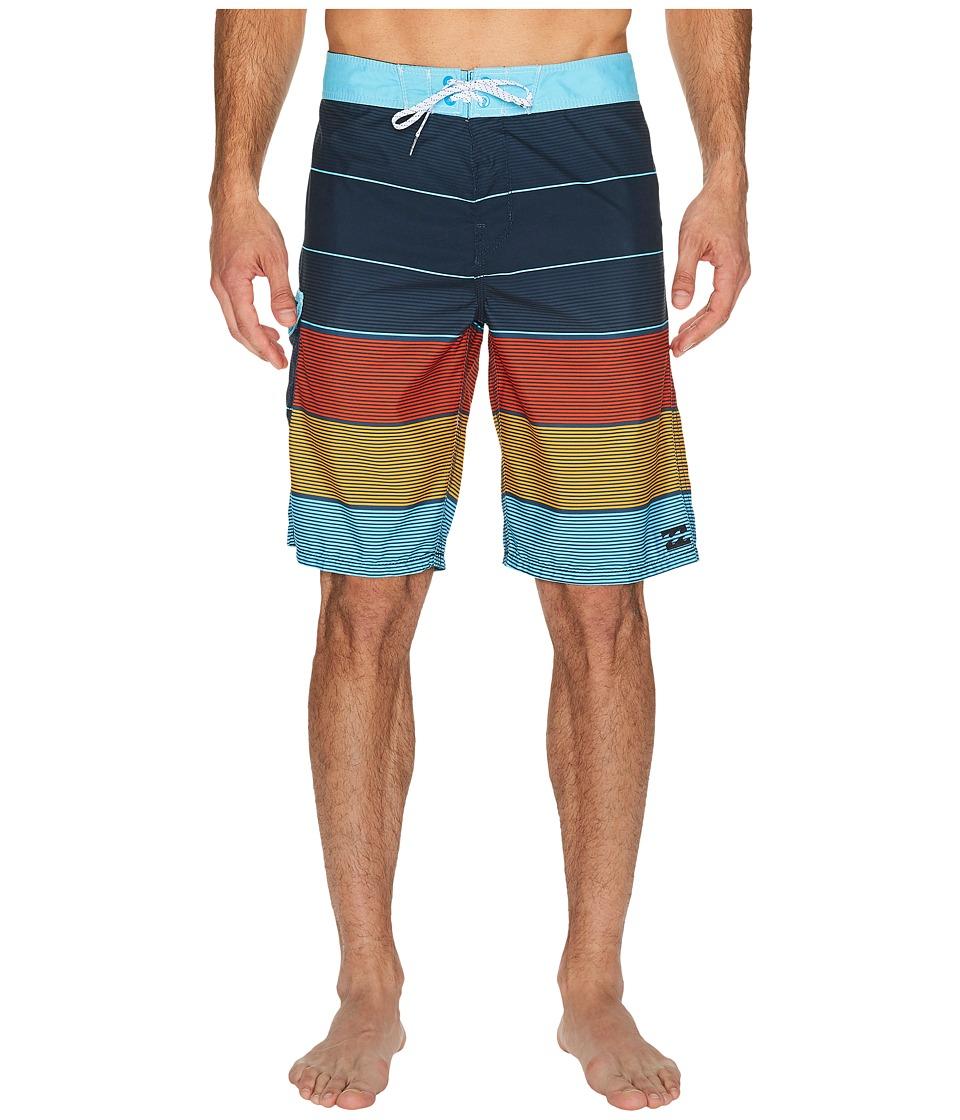 Billabong All Day Original Stripe Boardshorts (Indigo) Men