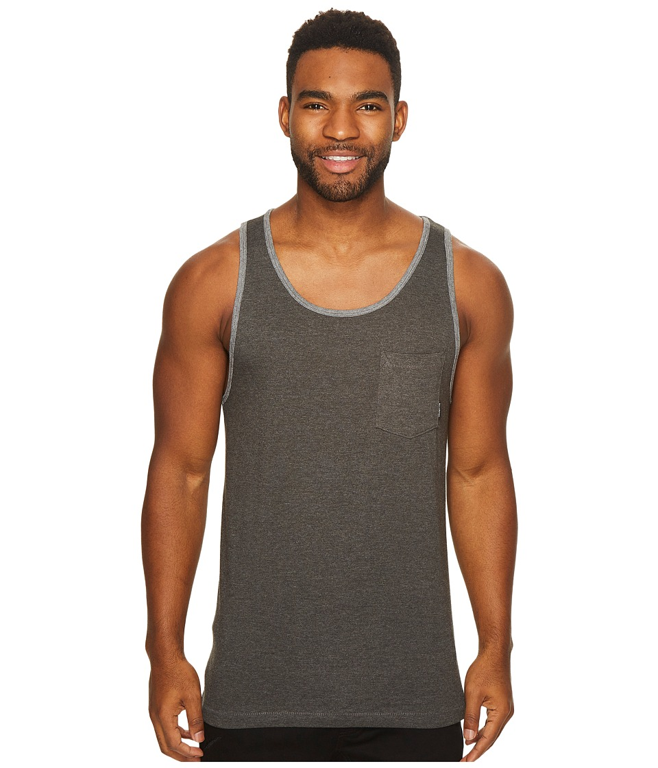 Billabong Zenith Tank Top (Charcoal) Men