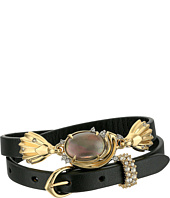 Alexis Bittar - Crystal Studded Golden Array Adjustable Wrap Bracelet/Choker