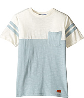 7 For All Mankind Kids - Crew Neck Tee (Big Kids)
