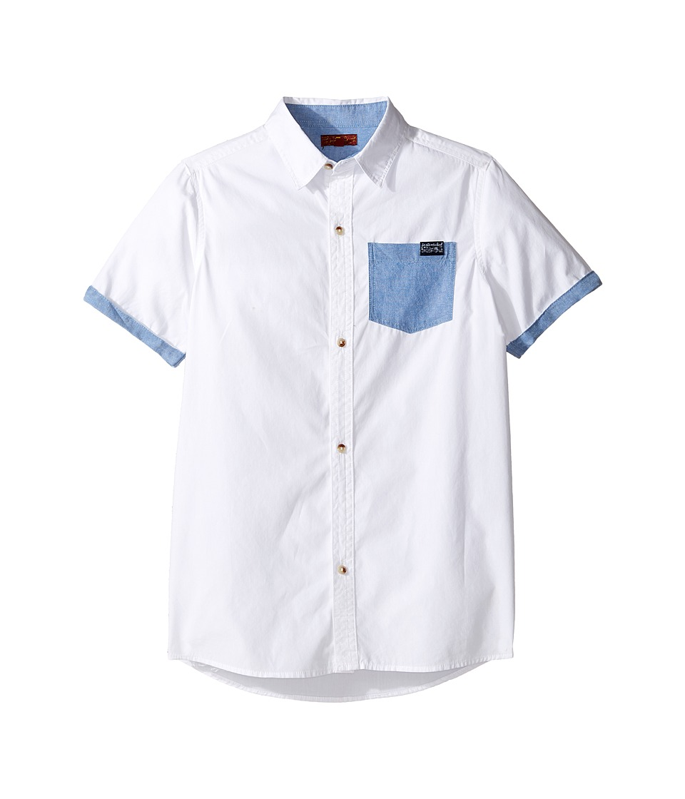 7 For All Mankind Kids - Short Sleeve Button Down Shirt