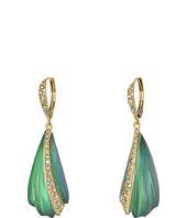 Alexis Bittar - Crystal Encrusted Sculptural Leverback Drop Earrings
