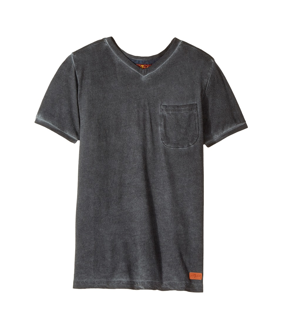7 For All Mankind Kids - V-Neck Tee