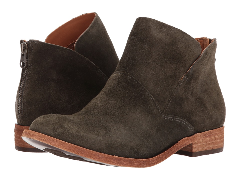 KORK-EASE Ryder (Green Suede) Women's Boots