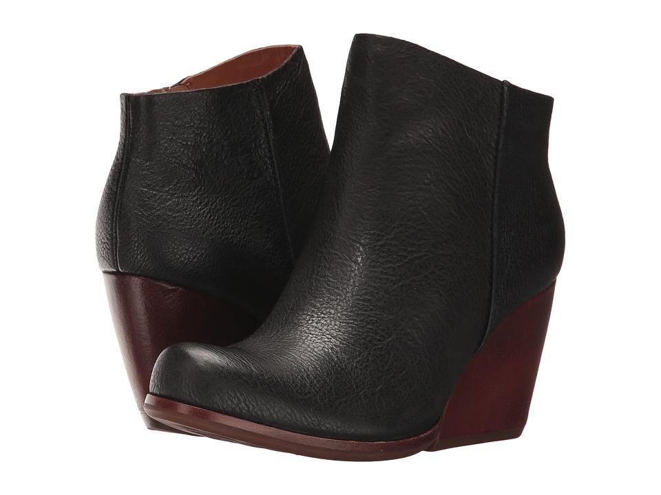 Kork-Ease Natalya (Black Full Grain Leather) Women