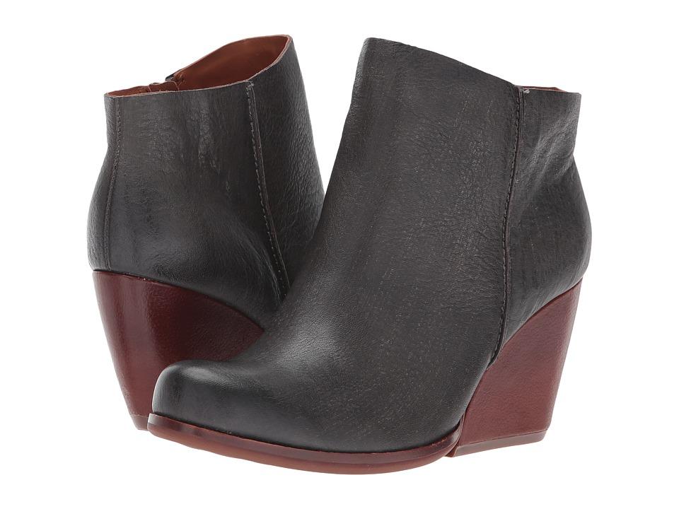Kork-Ease Natalya (Dark Grey Full Grain Leather) Women