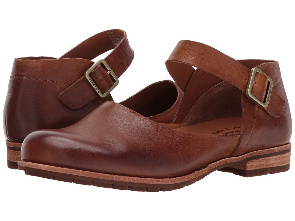 Kork-Ease Bellota (Brown Full Grain Leather) Women's Shoes