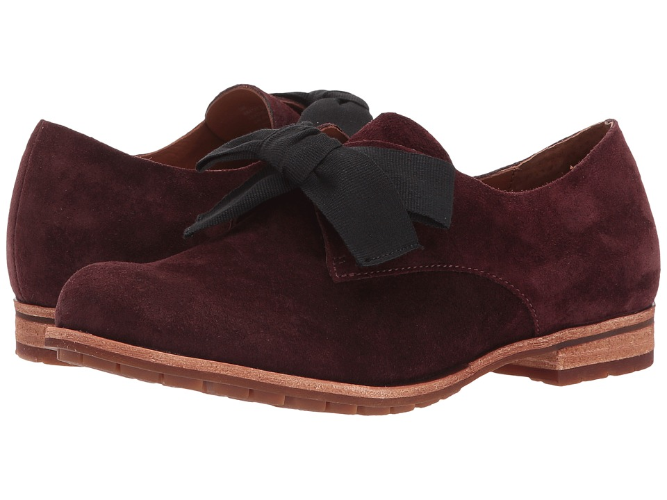 Kork-Ease Beryl (Burgundy Suede) Women's Shoes