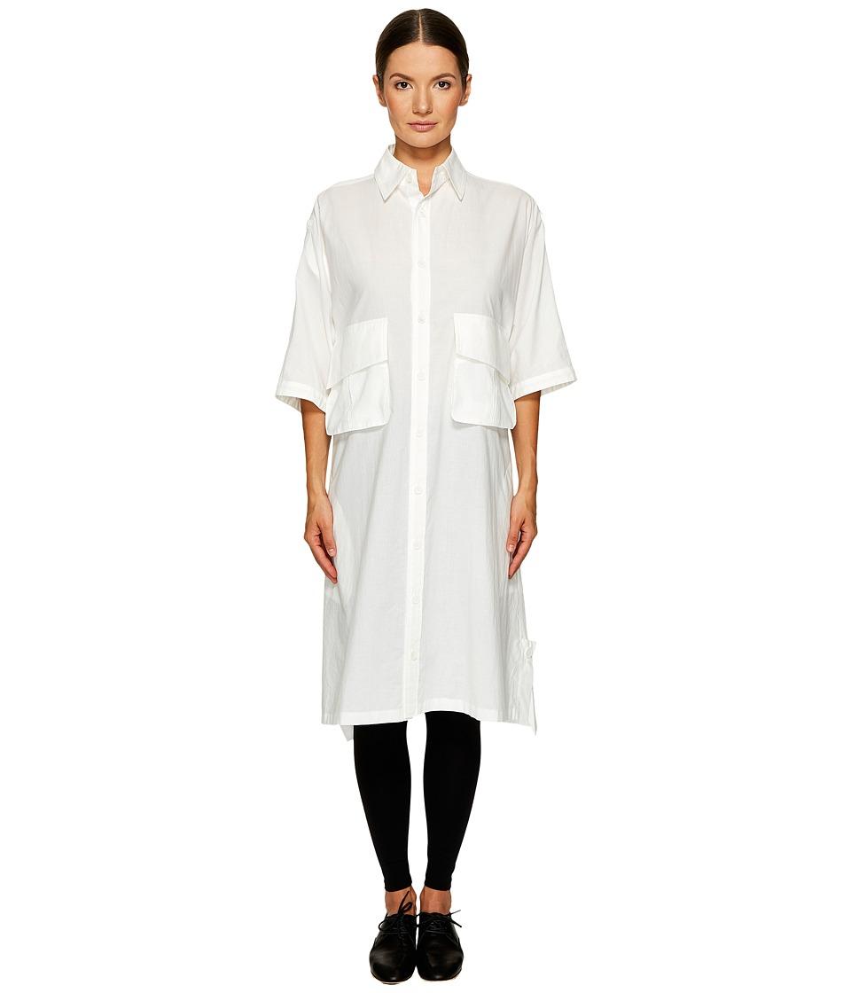 Y's by Yohji Yamamoto - Short Sleeve Work Shirtdress