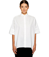 Y's by Yohji Yamamoto - High-Low Button Up Shirt