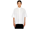 Y's by Yohji Yamamoto High-Low Button Up Shirt
