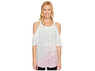 Cold Shoulder A-line Top