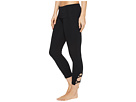 Contour Rolldown Wrap Around Capri Leggings
