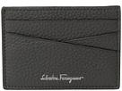 Salvatore Ferragamo Textured Leather Credit Card Pouch