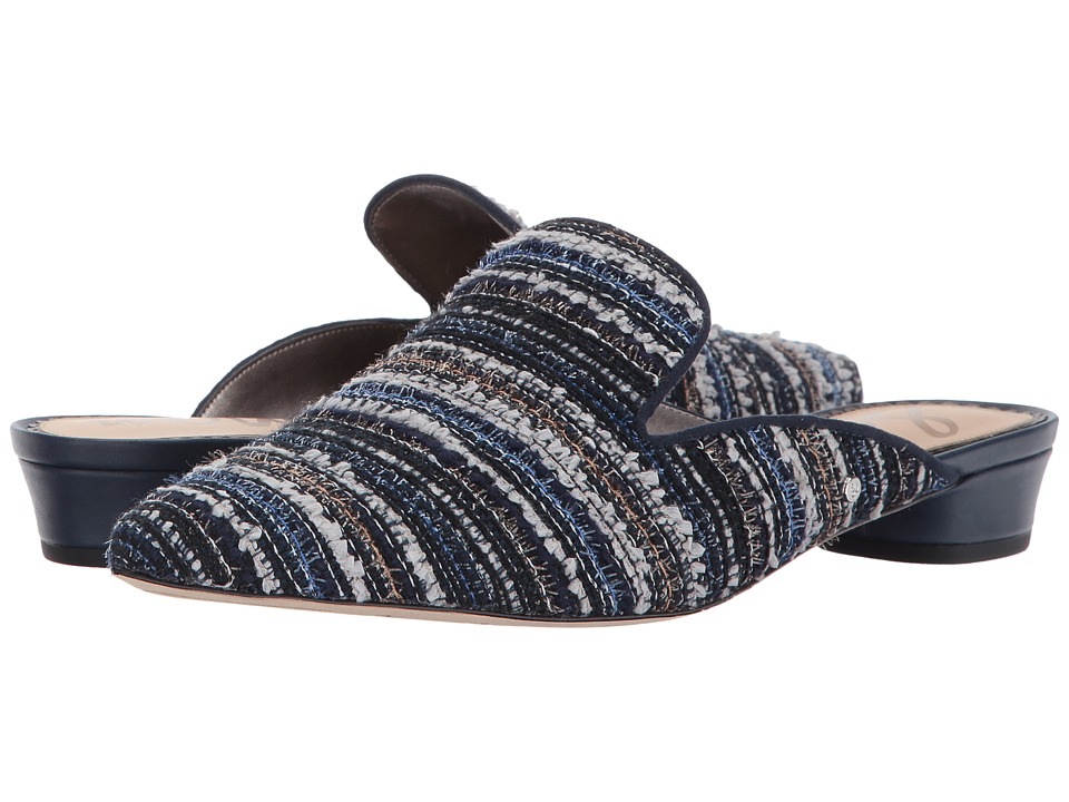 Sam Edelman Ansley 2 (Navy Striped Boucle Fabric) Women