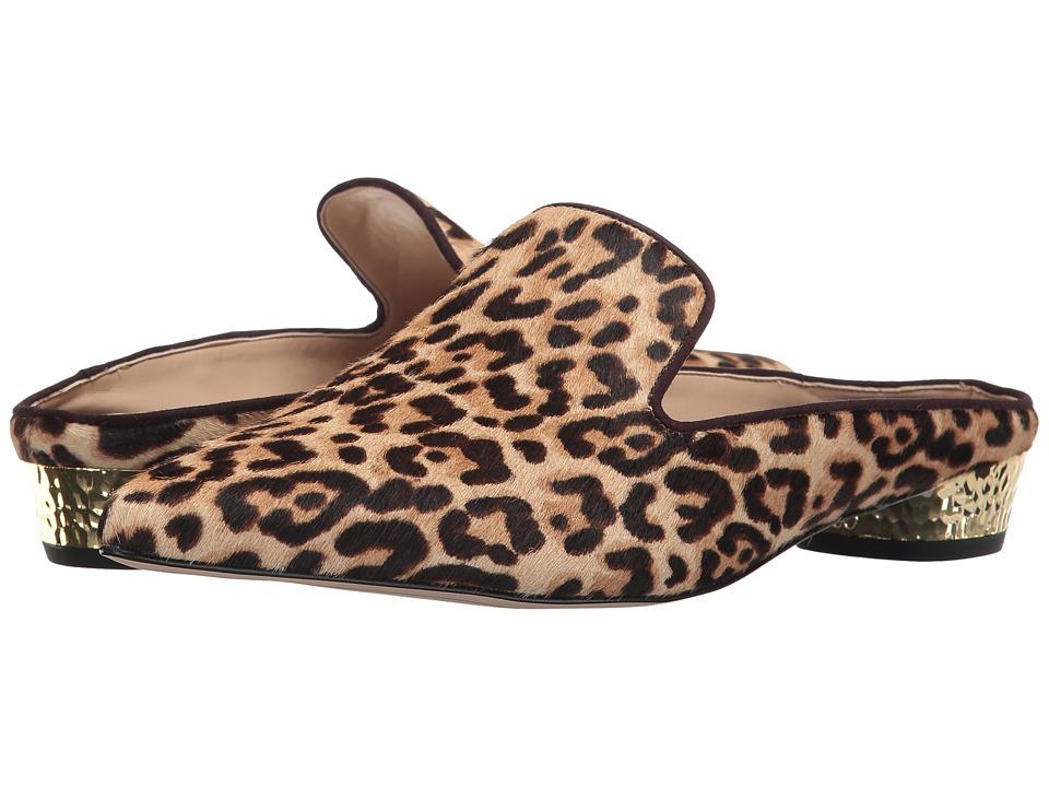 Sam Edelman Augustine (Sand Jungle Leopard Brahma Hair) Women