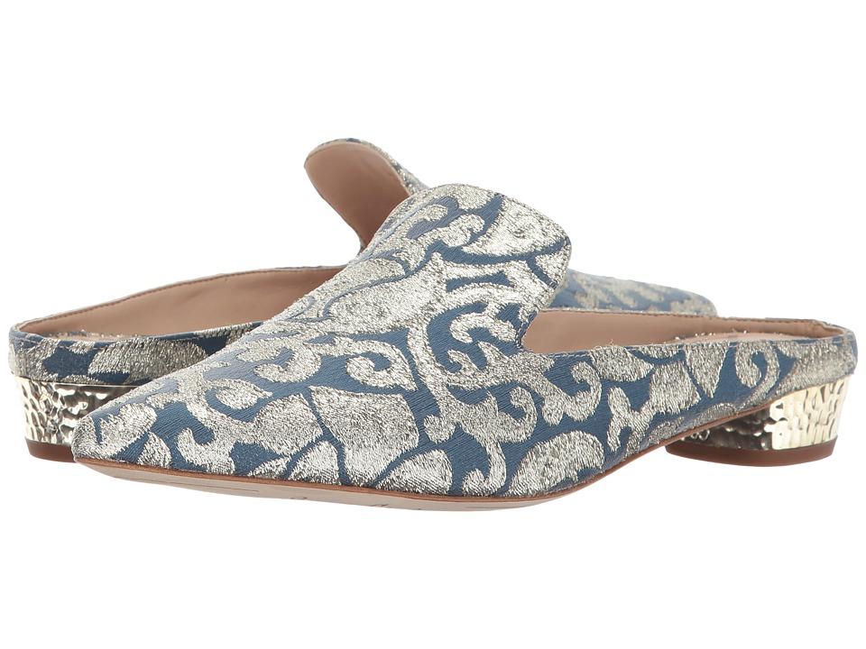 Sam Edelman - Augustine (Blue Multi Baroque Metallic Jacquard) Womens Shoes
