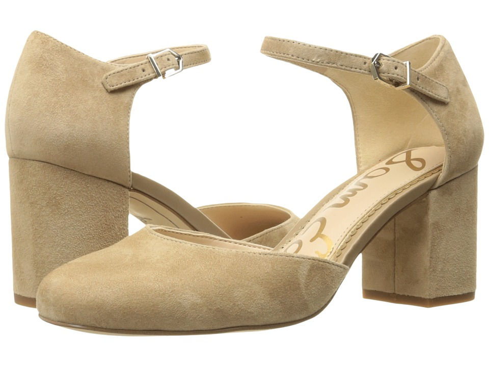 Sam Edelman - Clover (Oatmeal Kid Suede Leather) Womens Shoes