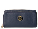 Tommy Hilfiger Tommy Pebble Double Zip Wallet