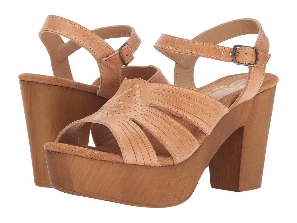 Sbicca Bianco (Tan) High Heels