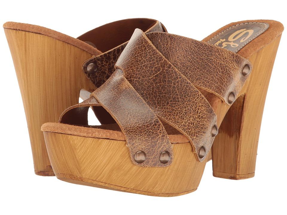 Sbicca Ladina (Tan) High Heels