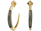 Alexis Bittar - Crescent Hoop Earrings