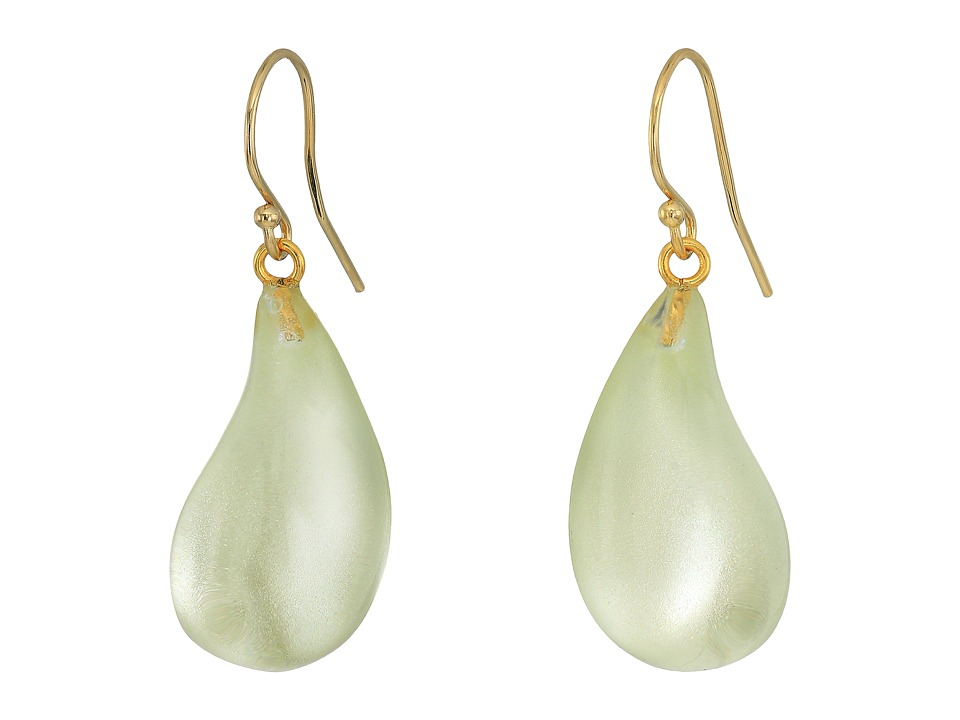 Alexis Bittar - Dewdrop Earrings (Clear Ivory) Earring