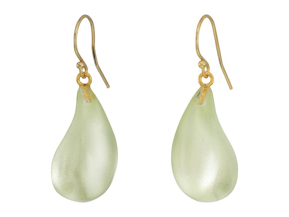 Alexis Bittar - Dewdrop Earrings (Clear Ivory) Earring