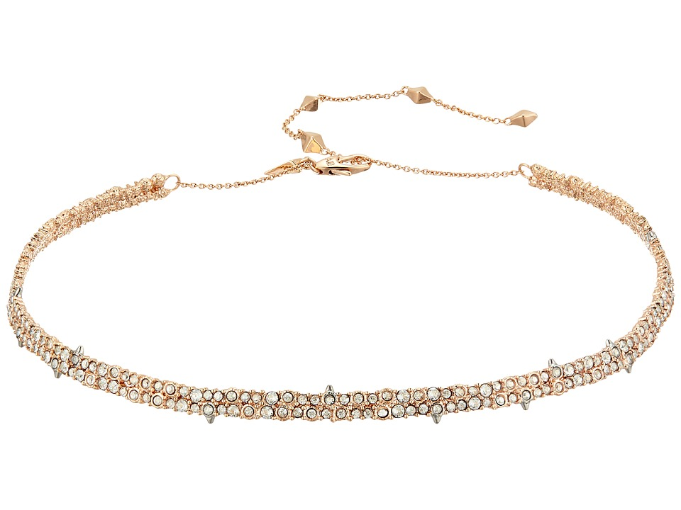 Alexis Bittar - Encrusted Spike Choker Necklace