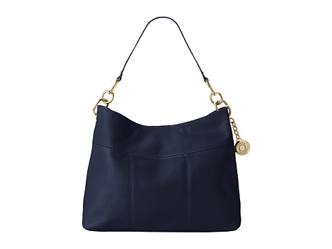 Tommy Hilfiger Tommy Signature Pebble Hobo - Navy