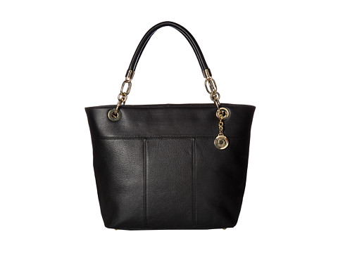 Tommy Hilfiger Tommy Signature Pebble Tote - Black