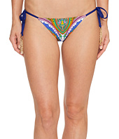 Trina Turk - Pacific Paisley Tie Side Hipster Bottom