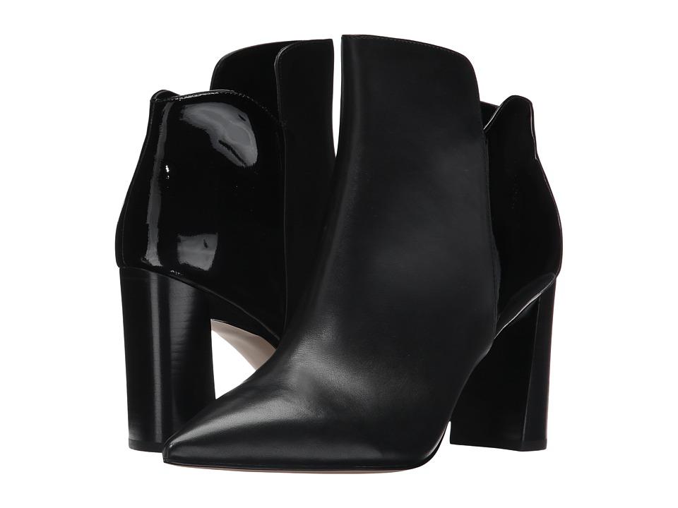 Marc Fisher LTD Harper (Black/Black Leather) Women