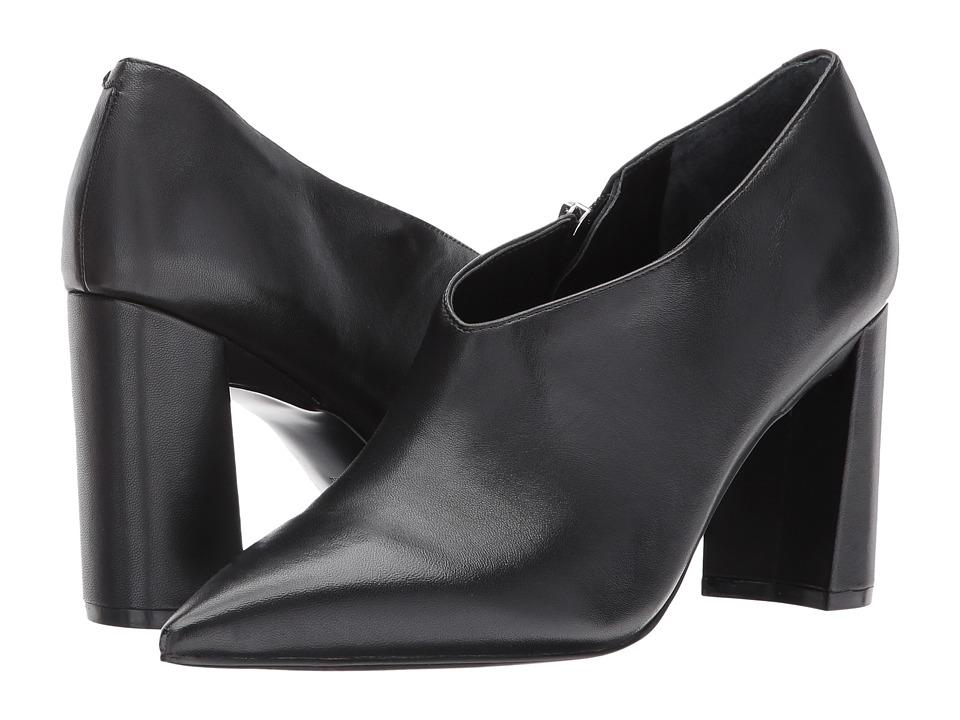 Marc Fisher LTD Hoda (Black Leather) Women