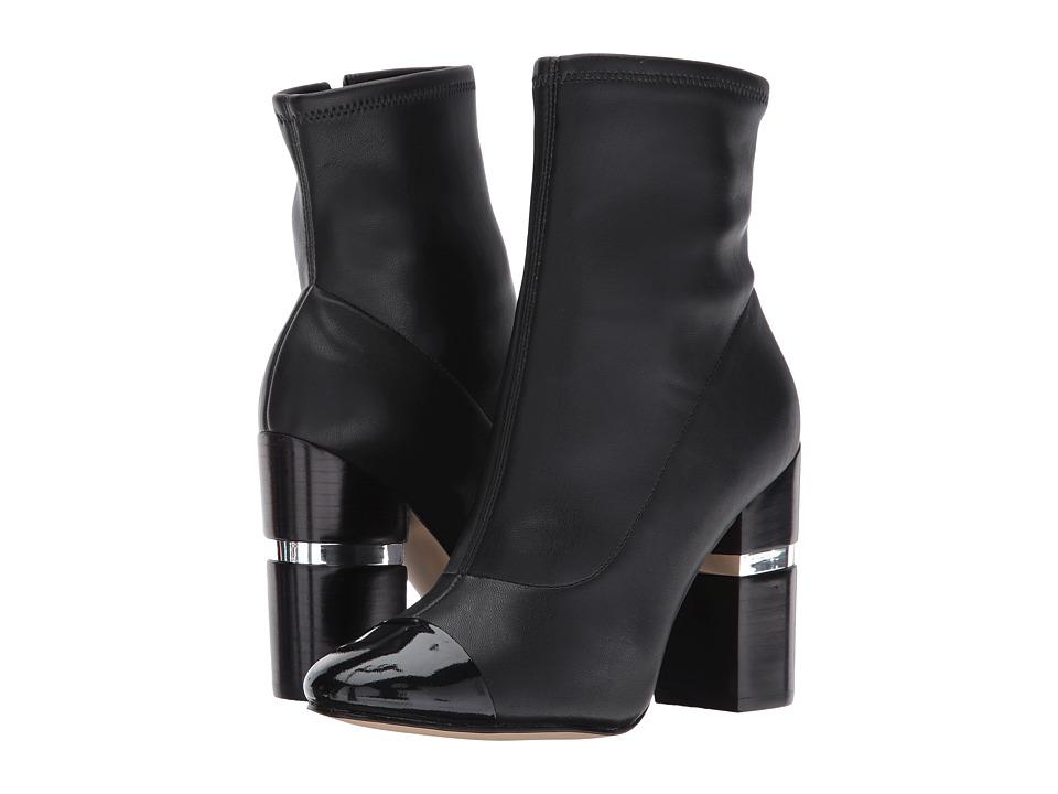Marc Fisher LTD Prisa (Black/Black Leather) Women