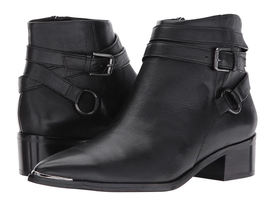 Marc Fisher LTD Yatina (Black Leather) Women