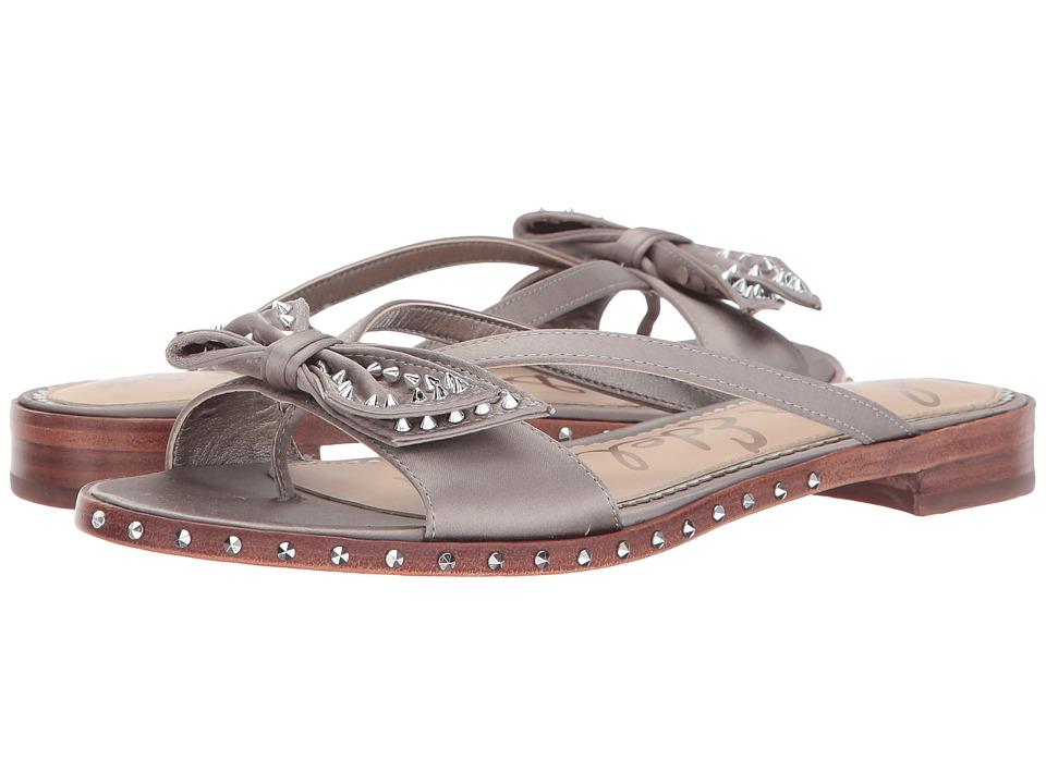 Sam Edelman - Dariel (Light Grey Satin Lux Fabric) Womens Shoes