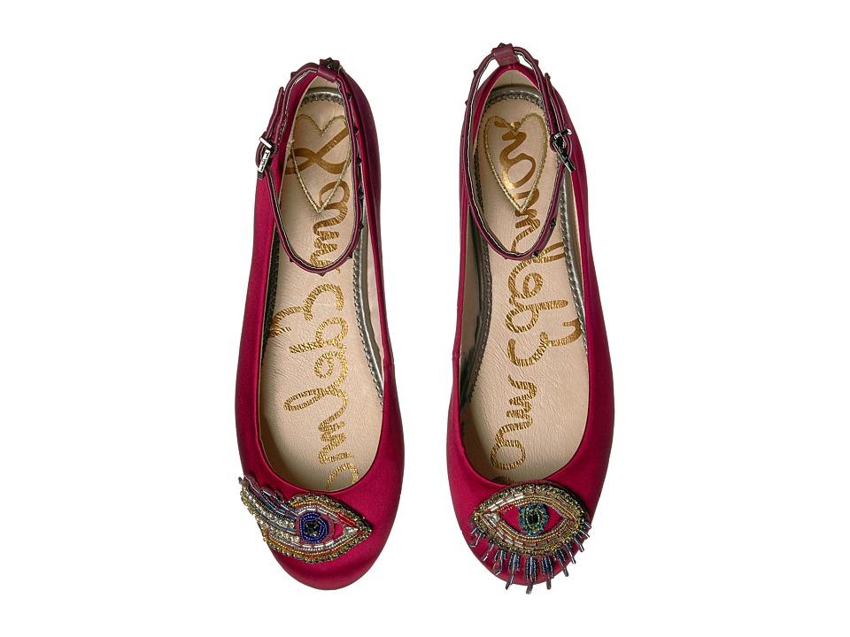 Sam Edelman - Ferrera 3 (Cranberry Satin) Womens Shoes