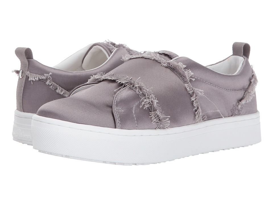 Sam Edelman - Levine (Light Grey Shiny Silk Satin) Womens Shoes