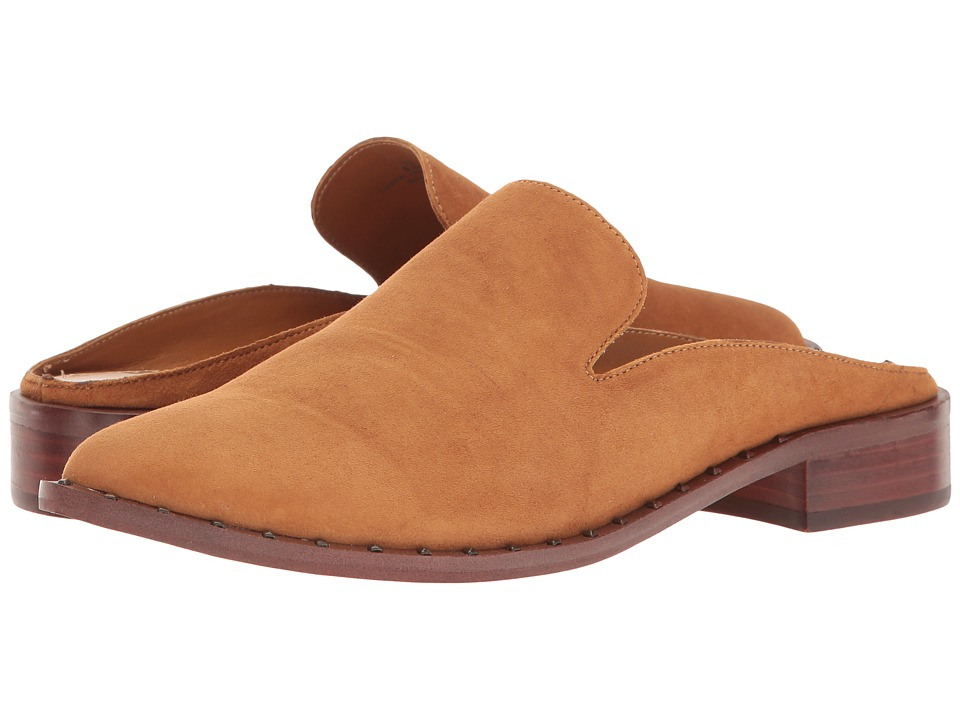Sam Edelman - Lewellyn (Cognac Kid Suede Leather) Womens Shoes