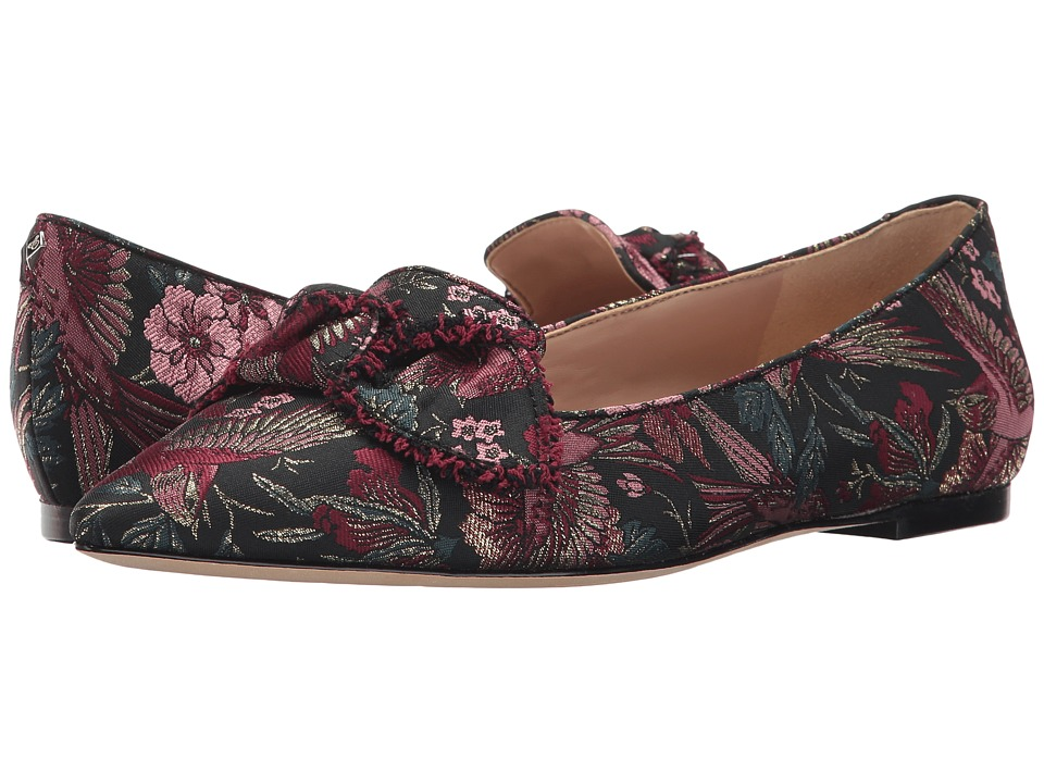 Sam Edelman - Rochester (Black Multi Majestic Bird Jacquard) Womens Shoes