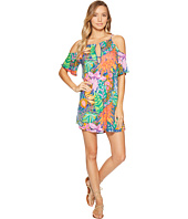 Trina Turk - Tropic Escape Off Shoulder Tunic Cover-Up